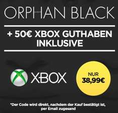 Google Chromecast 2 + Paranormal Activity: The Ghost Dimension für 24,99€; 50€ Xbox Credit + Orphan Black S1 für 38,99€ oder 30€ Rakuten Gutschein + Orphan Black S1 für 24,99€ *UPDATE* Mit SpongeBob Schwammkopf - Schwamm aus dem Wasser für 23,99€
