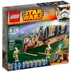 [Lego Shop] Lego Star Wars 75086 Battle Droid Carrier + Gratis Oster-Minifigur + Disney Princess Set + Olafs Sommerspaß für 57,98€