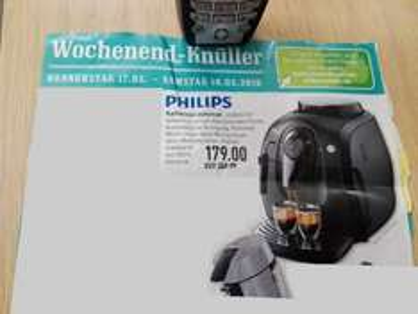 [Marktkauf Frechen] Philips Kaffeevollautomat HD8651/01 (vom 17.-19.03.2016)