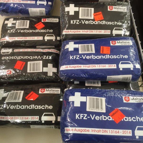 4,00€ KFZ Verbandkasten (Tasche) [Aldi Velbert]