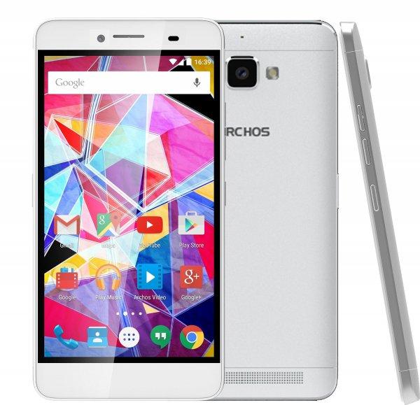 """Archos Diamond Plus LTE + Dual Sim, 5,5"""" FHD IPS, 8x 1.50GHz, 2GB Ram, 16GB Speicher (erweiterbar), 16MP Kamera, Android 5.1 für 221€ bei Brands4friends"""