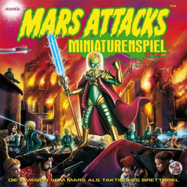 Brettspiel Mars Attacks - Miniaturenspiel DELUXE