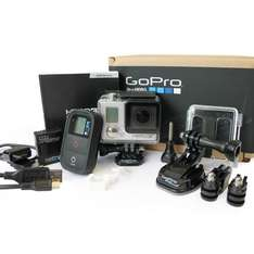 [Ebay - refurbished] GoPro HERO 3+ Black Edition inkl. WiFi Remote - 224,59€