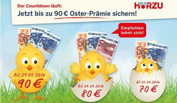 Jahresabo Hörzu inkl. Radioprogramm für eff. 3,60 EUR (durch Verrechnungsscheck)