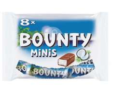 0,90€ Bounty minis Rossmann Green label