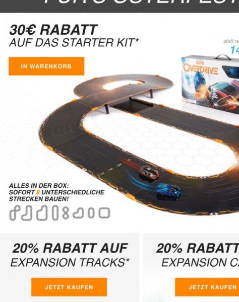 [Anki] Anki Overdrive Rabatt auf Bundles/Tracks/Cars