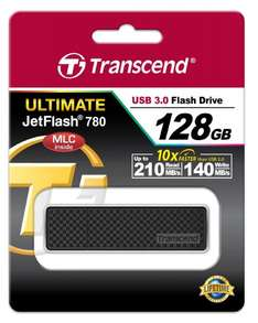 [Amazon.co.uk] Transcend JetFlash 780 128GB USB 3.0 (R.: 210 MB/s & W.: 140 MB/s) für 44,75€