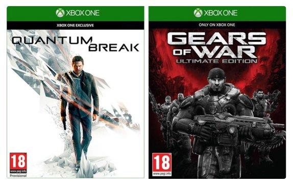 [Coolshop] Quantum Break + Gears of War: Ultimate Edition + Alan Wake's American Nightmare für 56,95