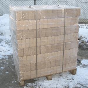 960kg Palette Holzbrikett eckig - nahe Flensburg 138€ - Hornbach TPG:124,20€