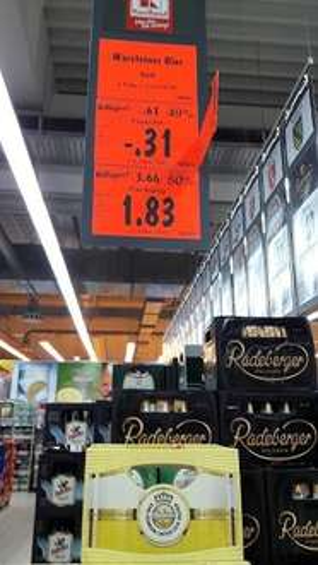 (Kaufland Berlin-Britz) Warsteiner herb 6x0,33l für 1,83 EUR + Pfand