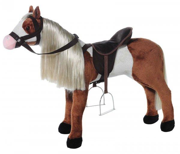 """HEUNEC Pferd stehend WENDY """"Dixie"""" als Stehpferd mit Stimme 75cm"""