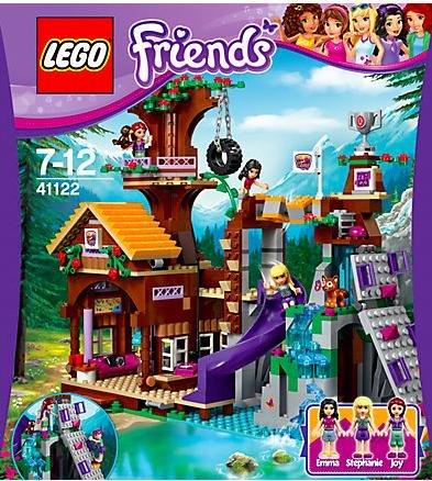 [MyToys] 20% auf Lego Friends nur noch heute, z.B. LEGO 41122 Friends Abenteuercamp Baumhaus für 45,94€ (inkl VSK) statt 57,79€
