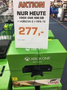 [Lokal Hamburg] Xbox One 500GB + Forza Horizon 2 + Fifa 16