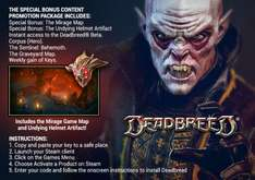 [Steam] Deadbreed (DLC) via@Facebook/Woobox (IndieGala)