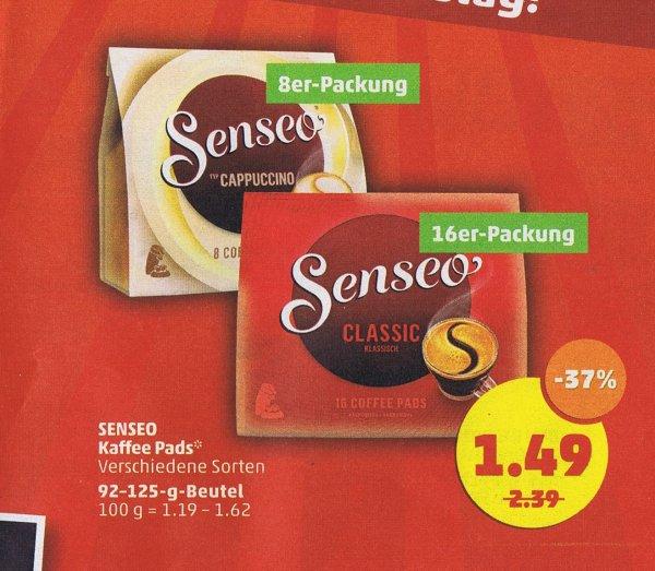 [Penny] Senseo Kaffee-Pads für 1,49€