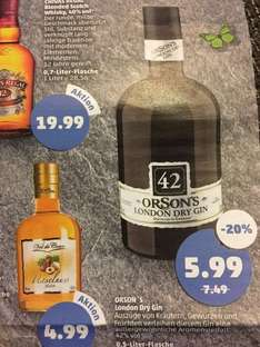 [Penny] ORSON´S London Dry Gin für 5,99