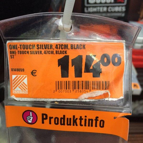 Weber OneTouch 47 cm Black