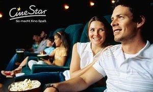 5 Kinogutscheine für CineStar für 25€ @Groupon