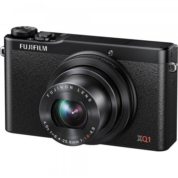 [Saturn] FUJIFILM XQ1 Kompaktkamera (12 Megapixel, 4x opt. Zoom, WLAN, X-Trans CMOS II Sensor, 25-100 mm Brennweite, schwarz) für 222,00 € statt 355,00 €