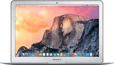 Click&Collect Deal [Saturn-Ebay) APPLE MacBook Air, Notebook mit 13.3 Zoll, 128 GB Speicher, 4 GB RAM, Core i5 Prozessor, OS X El Capitan, Silber für 804,60€