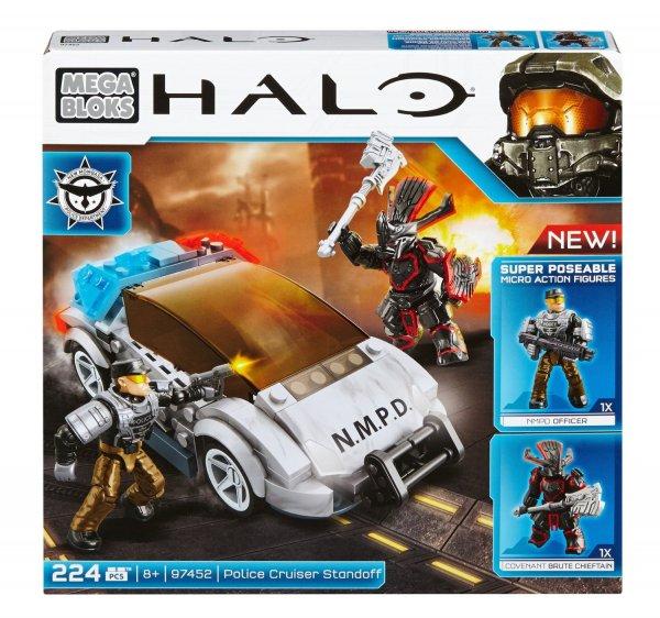 [amazon.de / Prime] Mattel Mega Bloks CYY42 Halo - NMPD Police Cruiser für 7,59€ / Vergleichspreis 19,99€