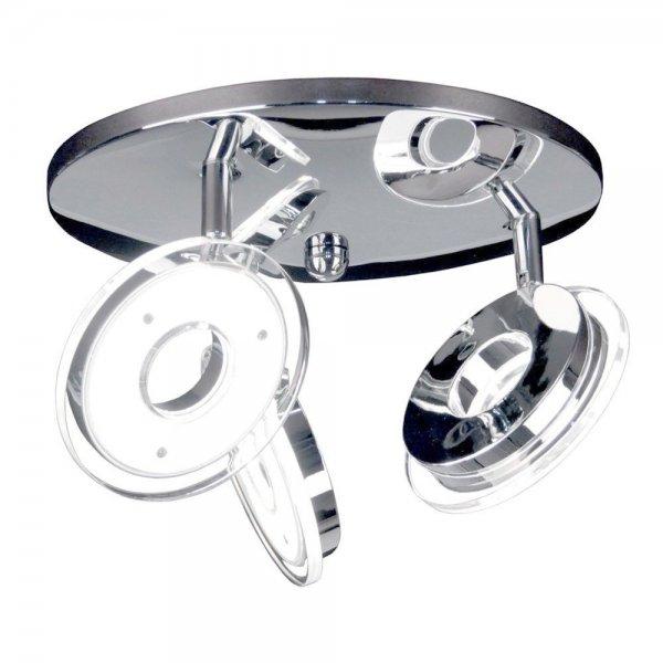 Details zu  LICHT-TREND Sempre Tres / LED-3er Spot / Ø 25 cm / 1200 Lumen / LED Deckenlampe  Sie sparen EUR 54,00 (-60 %*)