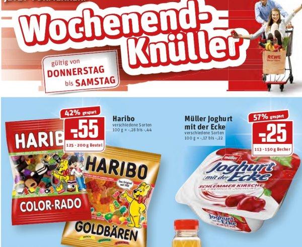 [REWE Dortmund/Ruhrgebiet] Haribo Colorado, Goldbären,Fruchtgummis oder Lakritz 125-200g für 0,55€