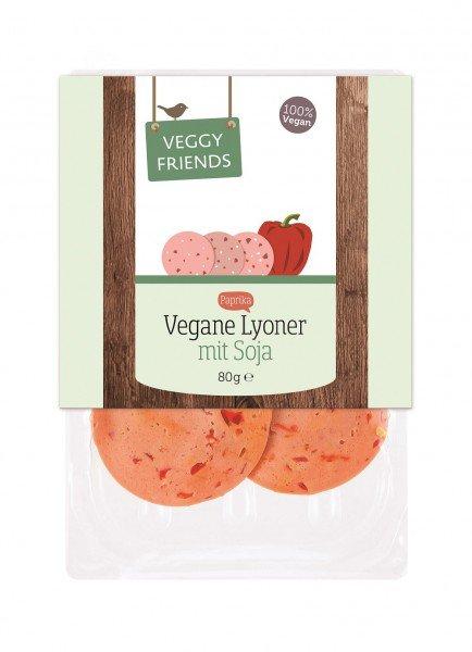 vegane Wurst von Veggy Friends für nur 0,90€ anstatt 1,99€ bei smilefood