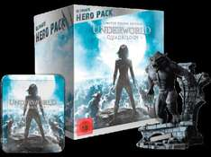MEDIA MARKT: Underworld 1-4 (Ultimate Hero Pack inklusive 23 cm Figur) [Blu-ray] 44,99