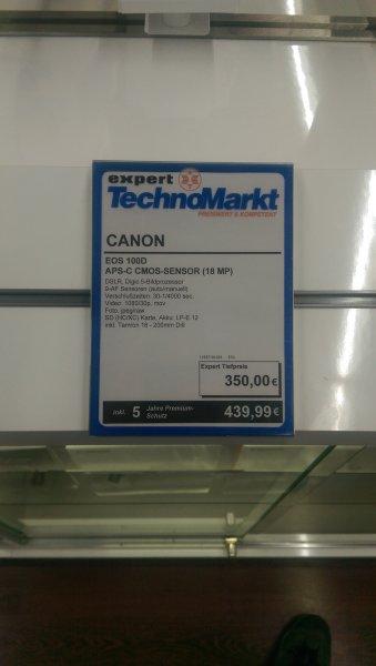 Canon eos 100d mit Tamron 18-200 für 350€