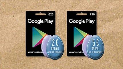 [Rewe] Google Play Osterrabatt (25€/2€, 50€/5€)