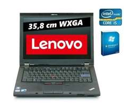 [One] Lenovo Thinkpad T410  - Intel® Core i5-520M Prozessor (2 x 2.4 GHz) - 4096 MB DDR3 Speicher - 160 GB Festplatte - DVD-Brenner Laufwerk - WXGA Display (1280 x 800 Pixel) -- B-WARE