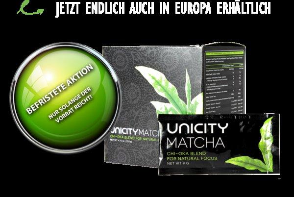 Gratisprobe Unicity Matcha Tee