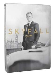 James Bond 007 - Skyfall (Blu-ray + DVD) Steelbook für 18,81€ bei Amazon.fr