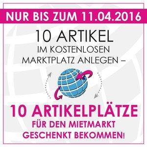 (Nur Gewerblich) 10 kostenlose Artikelplätze auf RentalNet.de (statt 232,05€)