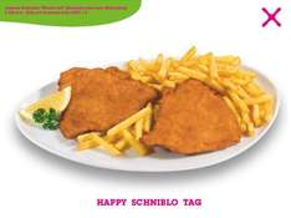 [Mömax] Bundesweit - Schniblo Tag - Schnitzel mit Pommes