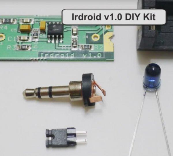 Externe IR Remote für Audio-Jack (z.B. für Galaxy S7)