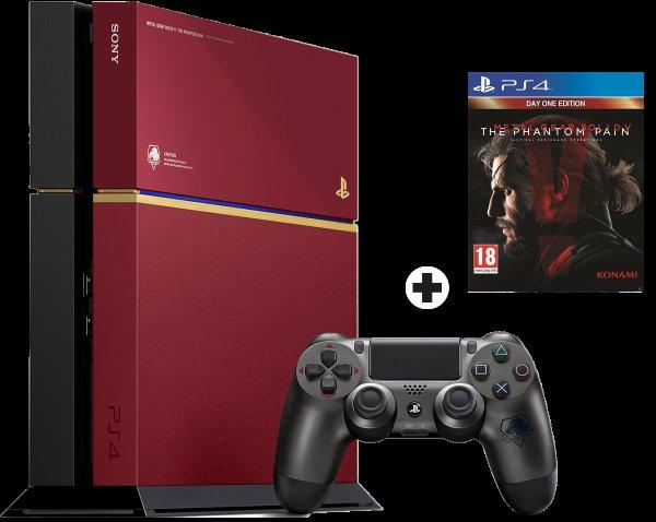 [MediaMarkt.ch] Sony PlayStation 4 Limited Edition Metal Gear Solid 500 GB inkl. Spiel für ca. 328€