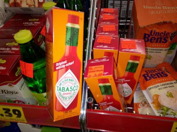 Tabasco Sauce Original 140ml 2,99€ Lokal Penny Magdeburg