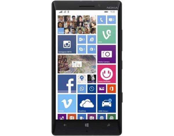 [CarbonPhone Shop] Microsoft Lumia 930 Smartphone (5 Zoll (12,7 cm) Touch-Display, 32 GB Speicher, Windows 10) schwarz oder schwarz/gold DEMOWARE