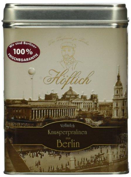 [amazon.de] Höflich Schokolade Vollmilch Knusperpralinen aus Berlin, Schmuckdose, EUR 5,94 (Prime oder als Füllartikel)