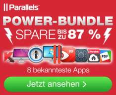 (MAC) Parallels Power Bundle mit Parallels 11, 1Password und 6 weiteren Apps - 81% gespart