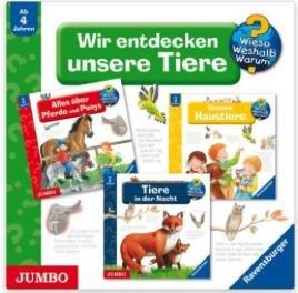 [Amazon Osterangebote] Tagesangebote - Viele schöne Hörbücher im Angebot - z.B. Wieso? Weshalb? Warum? Wir entdecken unsere Tiere für 10,40€ statt 17€