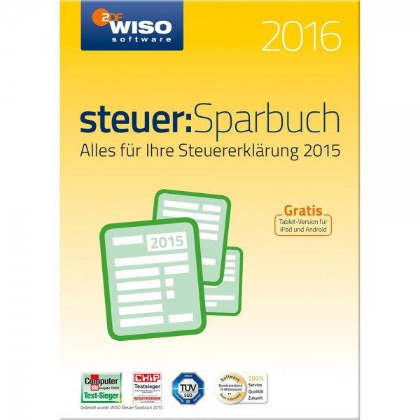 WISO steuer:Sparbuch 2016 (für Steuerjahr 2015) als CD @Amazon bis max. 13:45 Uhr Blitzdeal (17,99 Euro mit Prime)