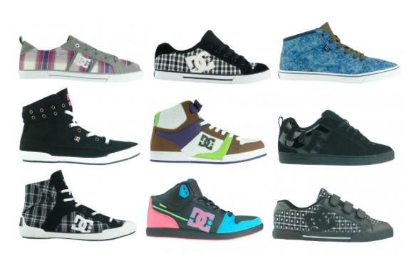 [Outlet46] DC Shoes Damen Sneaker (45 Modelle) für 19,46€ inkl. Versand