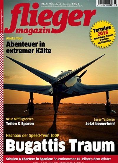"""12 Ausgaben """"Fliegermagazin"""" für eff. 9,60€ (durch Amazon-Gutschein) oder 14,60€ (durch Verrechnungsscheck)"""