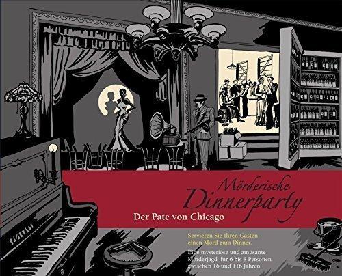 Mörderische Dinnerparty - Der Pate von Chicago (Detektivspiel) für 25,99€ bei Hugendubel