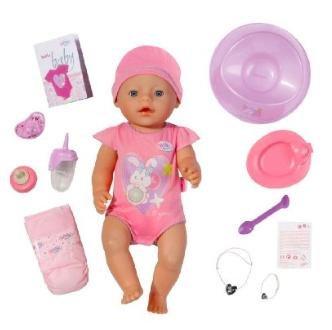 [Amazon] Zapf Creation 819197 - Baby born interactive Puppe für 34,38€ statt 42,88€