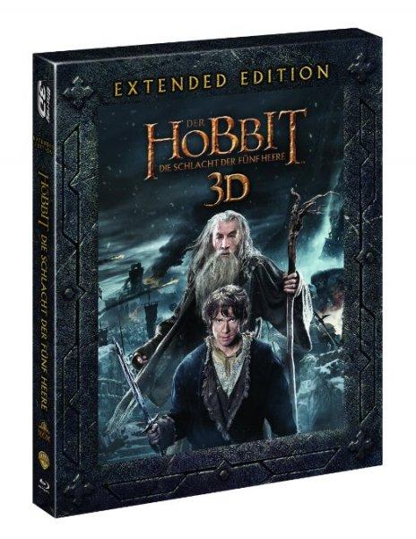 [Amazon Prime] Der Hobbit - Schlacht der fünf Heere (Extended Version) (3D Blu-ray)