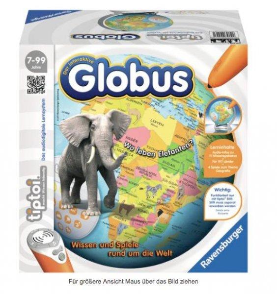 "[Amazon] Interaktiver Globus ""tiptoi"" von Ravensburg für 29,98€ inkl. VSK statt ca. 40€"